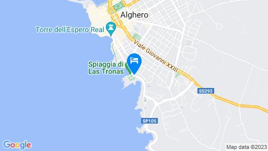 Villa Las Tronas Hotel & Spa Map