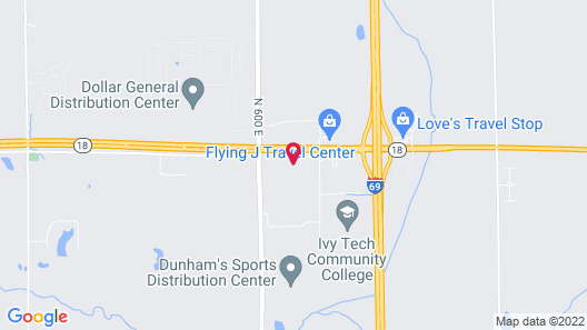 FairBridge Inn & Suites Marion Map