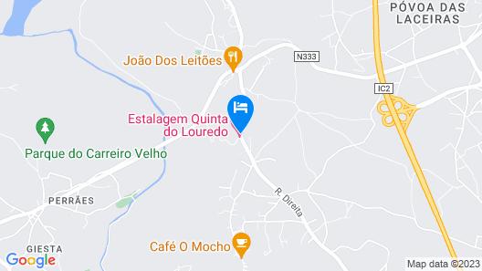 Quinta do Louredo Map