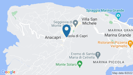 Hotel Bougainville Map