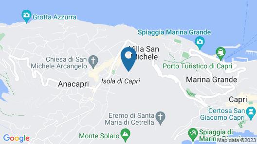 Monte Solaro Map