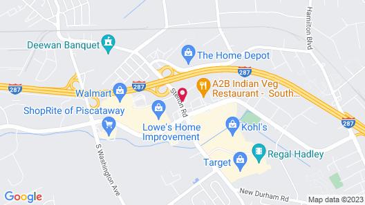 Holiday Inn South Plainfield-Piscataway, an IHG Hotel Map