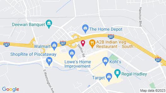The Garden Executive Hotel Map