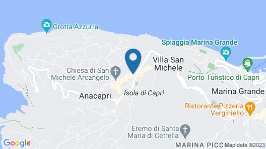 Hotel Biancamaria Map