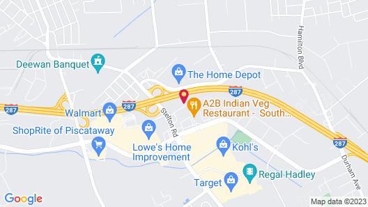 Hampton Inn South Plainfield-Piscataway Map