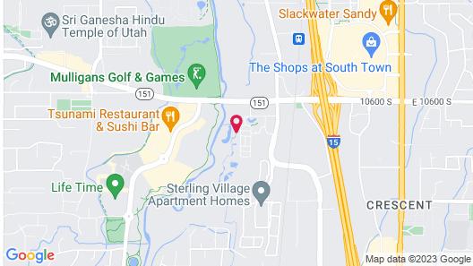 La Quinta Inn & Suites by Wyndham South Jordan Map