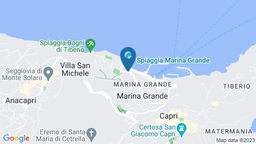 Villa Marina Capri Hotel & Spa Map