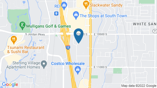 Extended Stay America Suites Salt Lake City Sandy Map