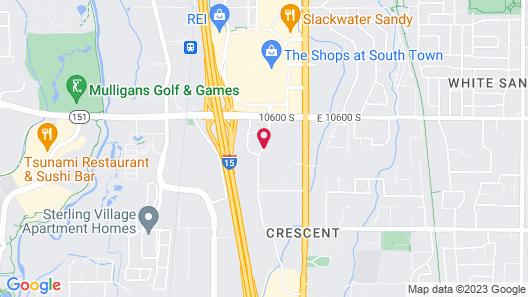 Best Western Plus CottonTree Inn Map