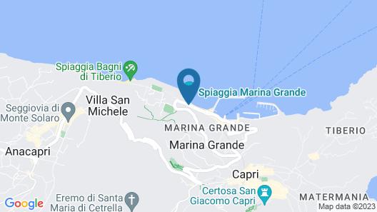 Capri Inn Map