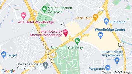 Delta Hotels by Marriott Woodbridge Map