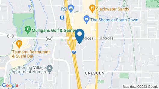 Hampton Inn Salt Lake City/Sandy Map