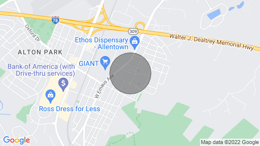 A Phenomenal Pad in The Lehigh Valley Map