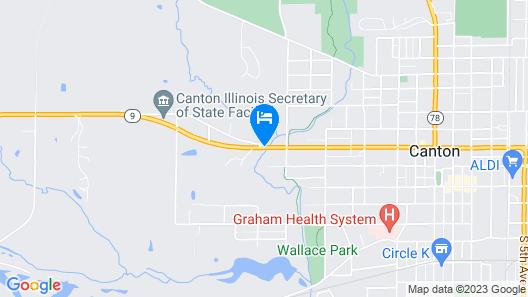 Canton Inn Map