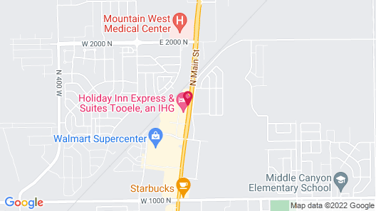 Holiday Inn Express & Suites Tooele, an IHG Hotel Map