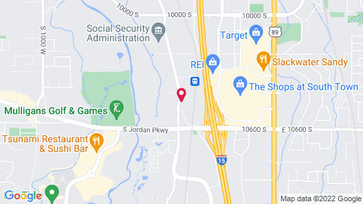 Holiday Inn South Jordan - SLC South, an IHG Hotel Map