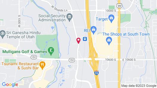Embassy Suites by Hilton South Jordan Salt Lake City Map