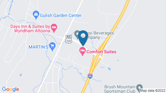 Days Inn & Suites by Wyndham Altoona Map