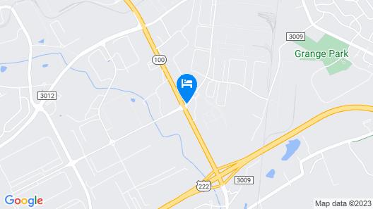 Homewood Suites by Hilton Allentown-West/Fogelsville, PA Map