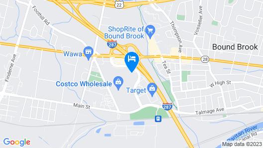 Hilton Garden Inn Bridgewater Map