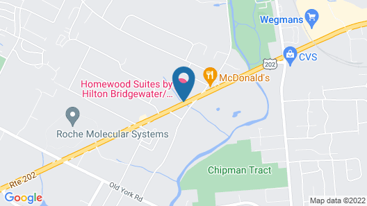 Homewood Suites by Hilton Bridgewater/Branchburg Map