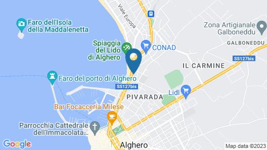 Quarté Sayàl Map