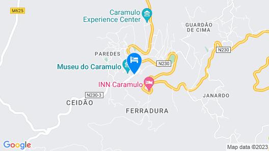 Golden Tulip Caramulo Hotel & SPA Map