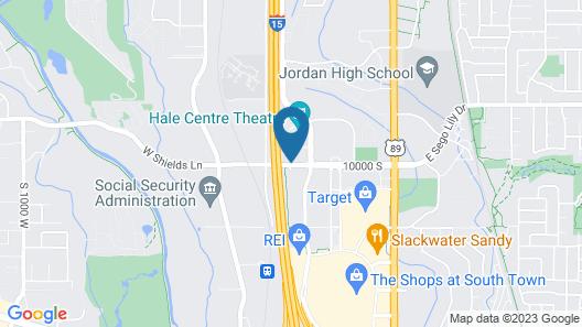 Residence Inn by Marriott Salt Lake City-Sandy Map