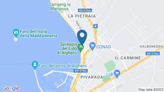 Hotel Soleado Map