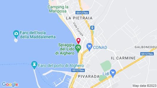 Alma Di Alghero Hotel Map