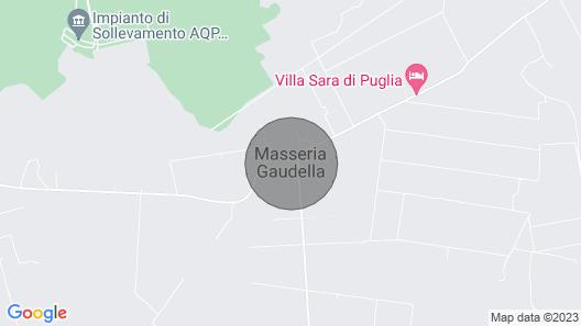 Villa Sara di Puglia, Country House Map
