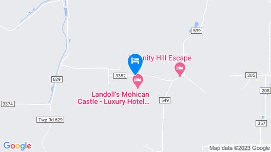Landoll's Mohican Castle Map