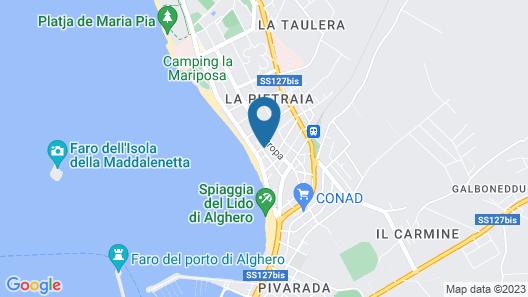 Hotel La Playa Map