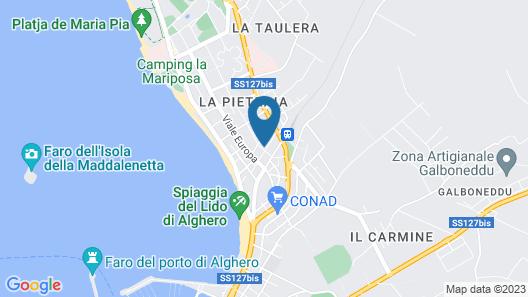 Acqua Chiara Map