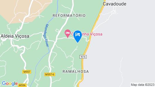Quinta do Seixo Space T2 in Serra da Estrela Map