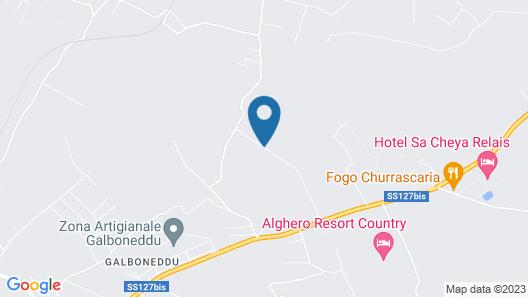 Il Sogno di Alghero Map