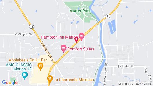 Hampton Inn Marion Map