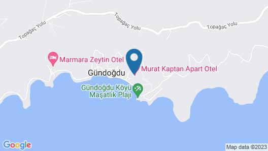 Murat Kaptan Apart Otel Map