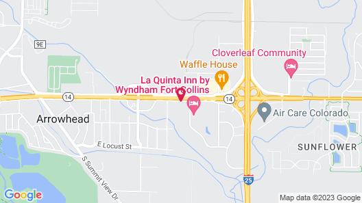 Days Inn by Wyndham Fort Collins Map