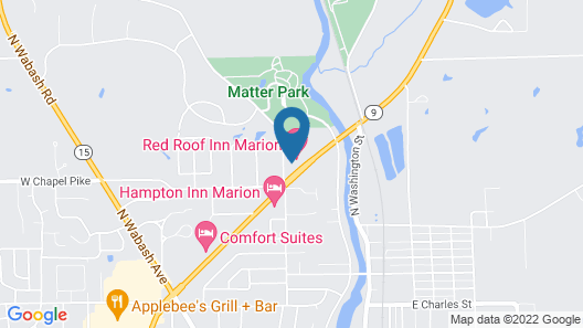 Red Roof Inn Marion Map