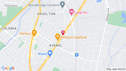 Horizon Inn Map