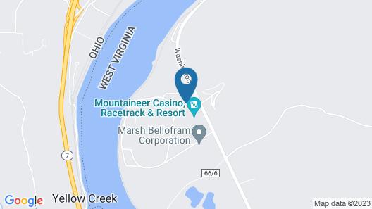 Mountaineer Casino-Racetrack-Resort Map