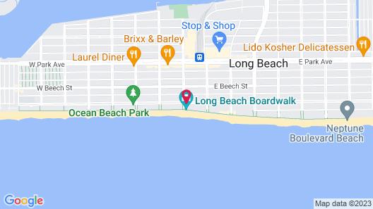 Allegria Hotel Map
