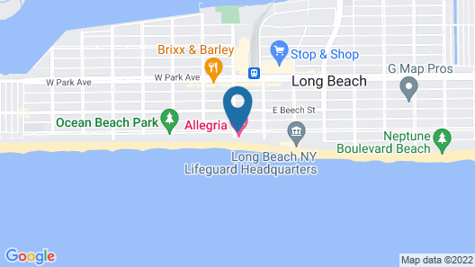 Allegria Hotel Map
