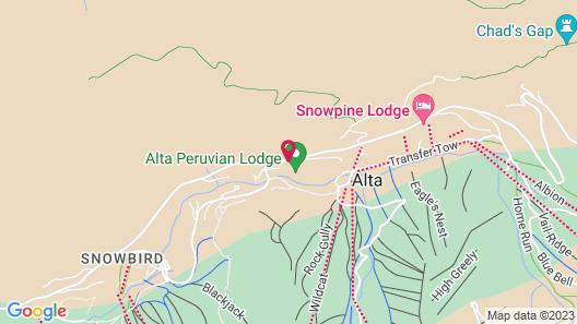 Alta Peruvian Lodge Map
