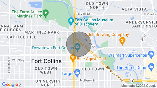 Pine Street Loft-right in the Middle of Old Town Map