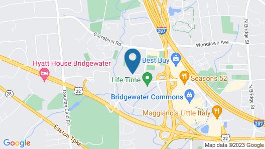AC Hotel Bridgewater Map