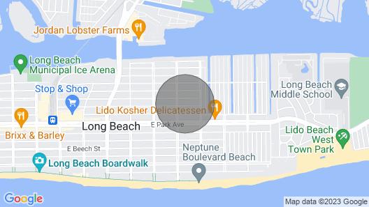 Beautiful, Warm and Spacious Home Near the Beach! Map