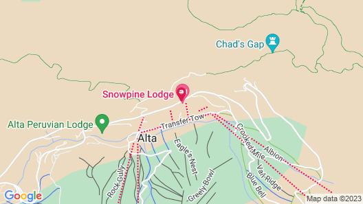 The Snowpine Lodge Map