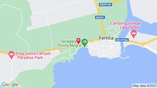 Hotel Punta Negra Map